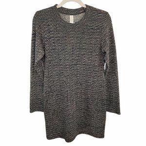 NWT Allison Joy Evereve Black Julie Sweater Dress Women's Size S